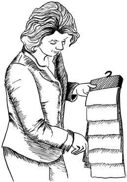 Henriette Muller - kleurenstaal